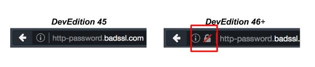Ενδείξεις Firefox